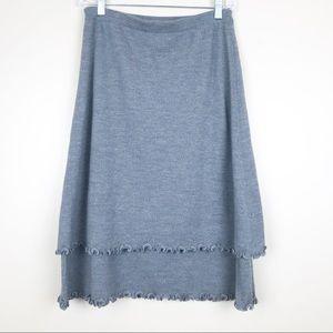 Escada women's 36 / 6 cashmere wool sweater skirt